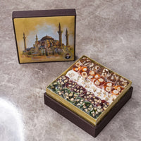 Traditional Fresh Delicious Mixed Luxe Turkish Delight Hagia Sophia. Free Worldwide Delivery within two to seven days with DHL