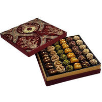 Mixed Dried Fruit in Red Velvet Box, 890gr
