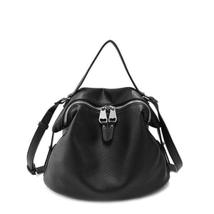 Vento Marea Bags For Women 2018 Black Designer Pu Leather Hobo Cross Body Pink Purse Soft Solid Korean Style Shoulder Handbags