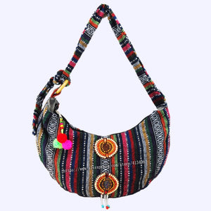 Vintage hmong Boho Tribal Ethnic Thai Indian Boho hand bag messenger  purse bag