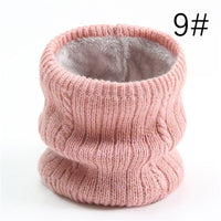 Women Winter Ring Neck Scarf 2020 New Unisex Infinite Snood Knitted Scarves Cashmere