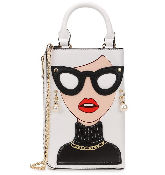 New Style Sexy Woman Fashion Pattern Earrings Decorated Female Totes Ladies Shoulder