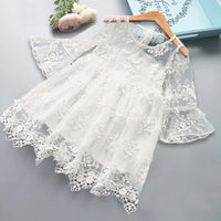 Kids dresses for Girls  Children Elegant Prom Frocks 3-8Y Girls Casual Wear