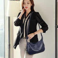 Woman Leather Shoulder Bag High Quality Artificial  Ladies Hobo HandBag Female Large Capacity Tote  sac a main