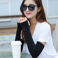 Women Bicycle Outdoor sunscreen cuff Fishing Sleeve Cover Sun Protection