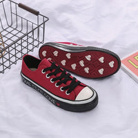 Women Casual Shoes Sneakers for Female Lace Up Classic Design Black Shoes