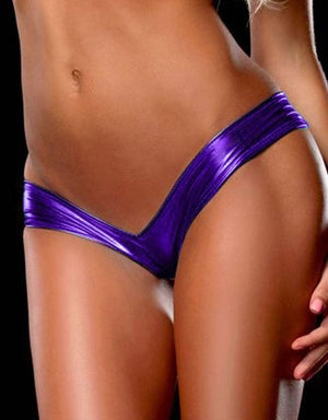 Women Sexy Lingerie Underwear Latex Hot G String Leather