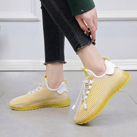 Women Sneakers Outdoor Woman Running Shoes Summer Breathable Sport Shoe 2019 Air Mesh Women Gym Shoes Athletic Zapatos De Mujer