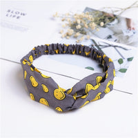 Women's Fashion Spring Summer Chiffon Headbands Cartoon Flamingo Wide Bands Turban Headwear Headwrap Hair Accessories