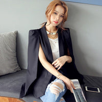 Women's suit jacket female 2019 spring new Korean version OL temperament cloak