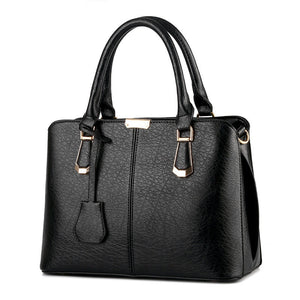 XLY&R Women Leather Handbags Shoulder Bags Hot Medium new fashion handbags leather satchel all-match laptop bag