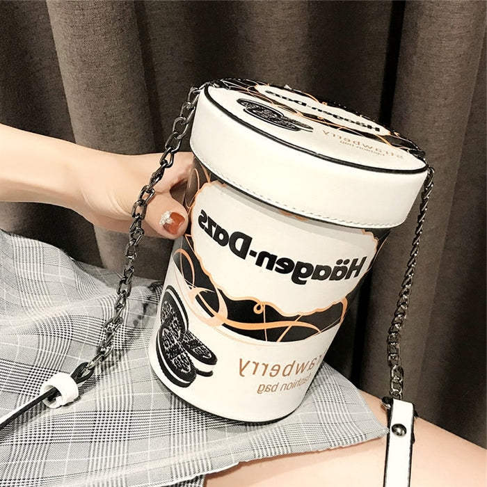 Yuhua, 2019 new women handbags, fashion Korean version shoulder bag, leisure woman messenger bag, trend cylinder bag.