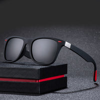 ZXWLYXGX Classic Polarized Sunglasses Men  Brand Design Driving Square Frame Sun Glasses Male Goggle UV400 Gafas De Sol