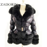 Winter Warm Detachable Down Jacket 2020