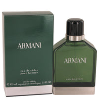 Armani Eau De Cedre Cologne By  GIORGIO ARMANI  FOR MEN,3.4 oz-100 ml Eau De Toilette Spray
