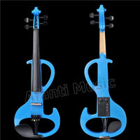 Afanti Music 4/4 Electric Violin with Hardcase, Earphone, connecting line(AVL-531)