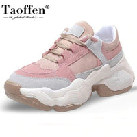 2020 Candy Colors Fashion Thick Bottom Walking Daily Women Sneakers
