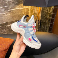 Platform Arched Lace-Up Running Casual Women Sneakers Shoes 2020