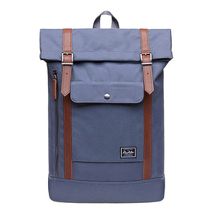 canvas backpack school bag men's travel bags KAUKKO Men And Women Travel Students Casual For Hiking Travel Camping Backpack #smt