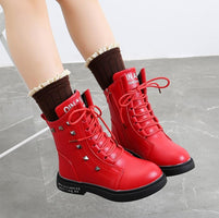 Children Warm Boys Girls Sneakers Boots Kids Baby Casual Sport Shoes