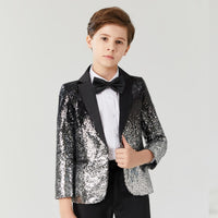 Small Host Stage Model Handsome Children's Clothing jacket