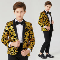 Children's sequined suit children's jazz singers'costumes hosting dresses