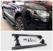 Electric Motor Automatic Switch Closed Running Boards For Land Rover