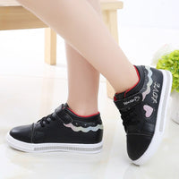 Children Shoes School Pu Tennis Shoes Lovely Girls Princess Casual Shoes Kids Running