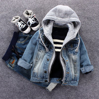 Kids Denim Jacket 2020 Boys Jean Coat Clothes Fashion Casual Boys Cardigan