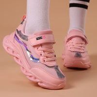 Footwear Pink Girl Sneakers Fashion Children Shoes Soft Brand Trainer Cute Kids Shoe