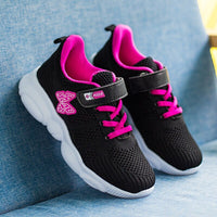 Girls Shoes Kids Beautiful Sneakers Children Sports Tennis Shoes Butterfly Pattern