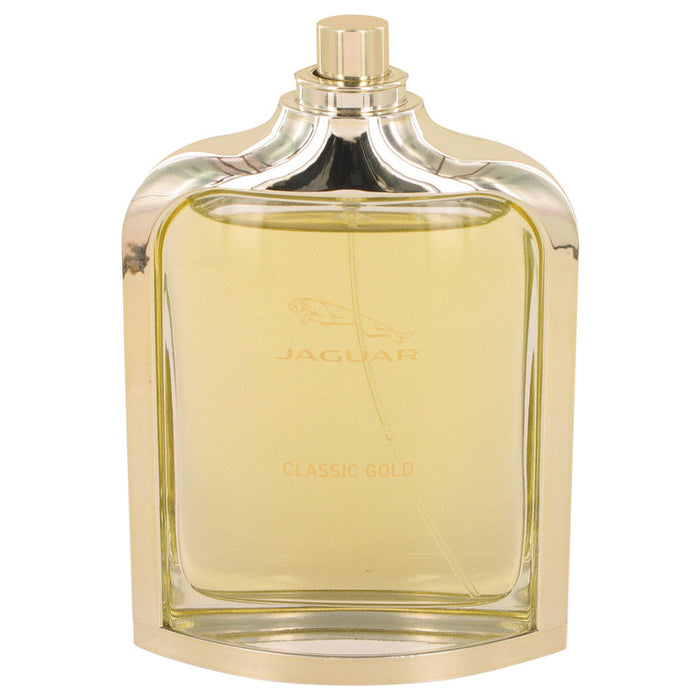 Jaguar Classic Gold Cologne FOR MEN,3.3 oz-100 ml Eau De Toilette Spray (Tester)