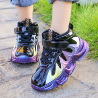 Boys help cotton-padded shoes 2020 new girls fashion casual wild student shoes