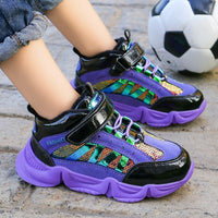 new fall winter fashion tidal range children's shoes net two red cotton Sneakers