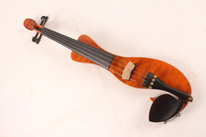New 4/4 Electric Violin Solidwood Powerful Sound 1/8 jack