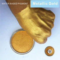 Golden 30g/pc Water Based Face And Body Paint Pigment Great Use in Festival Party
