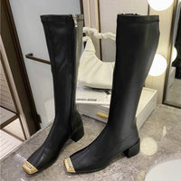 2020 Winter Luxury Women Designer Knee High Boots