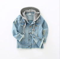 Boys Jacket kids Denim coat Children Outerwear girl clothing Spring Autumn boy