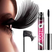 4D Mascara Waterproof Eyelash Fiber Natural Long Curling Eye Lash Lengthening Makeup Extension Volume Mascara