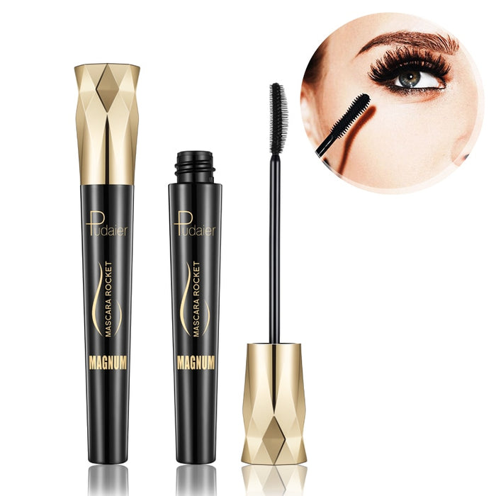 4D Silk Fiber Lash Mascara Waterproof Rimel 3d Mascara For Eyelash Extension Black Thick Lengthening Eye Lashes Korean Cosmetics