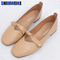 Bow Fashion Women Flat Shoes Ballerina Flats Loafers Casual Comfortable