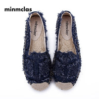 2019 New Alpargatas espadrilles Leopard print Comfortable Slip-on Womens