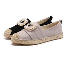2019 Alpargatas Espadrilles Cartoon Comfortable Slip-on Womens Casual Slippers