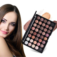 New 40 Colors Eye Makeup Nudes Palette Matte Eyeshadow Naked Beauty Powder Eye