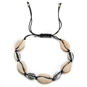 Yobest Colorful Cowrie Shell Bracelets for Women Delicate Rope Chain Bracelet