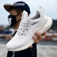 2019 New Fashion Casual Shoes For Men Breathable Mesh Soft Comfortable Walking