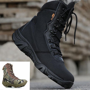 Masorini Men Military Boots Camouflage Tactical Combat Boots Asker Bot