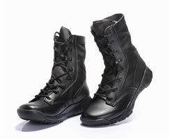 2018 CQB ultra-light combat boots summer high top desert shoes men's tactical