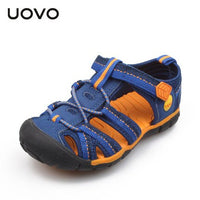 Uovo New Kids Closed Toe Shoes Boys Sport Sandals Beach Hiking Sandalias Ninas