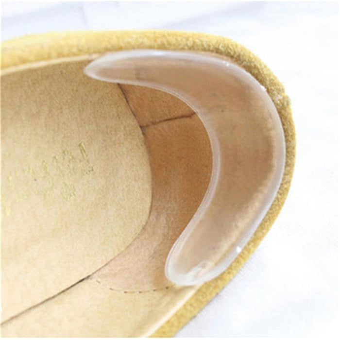 Silicone Gel heel protector soft Cushion protector Foot feet Care Shoe Insert Pad